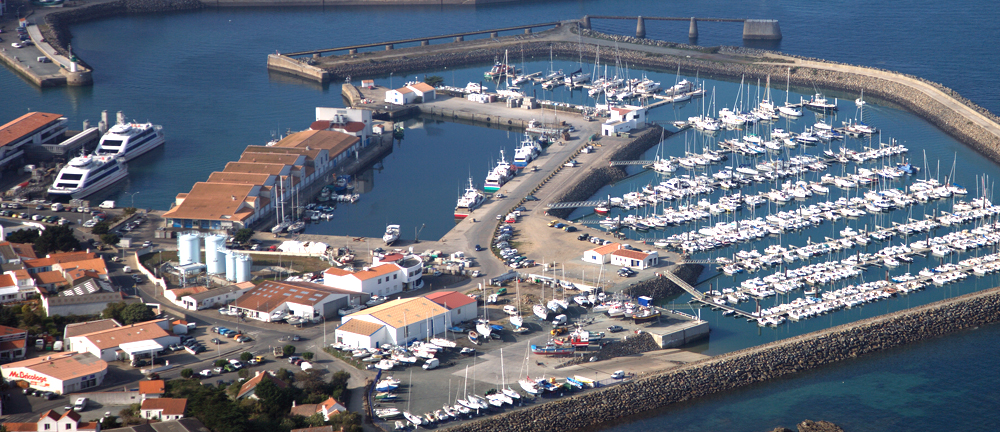 Port de commerce de l'Ile d'Yeu
