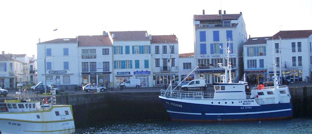 Le port de p che de l 39 ile d 39 yeu cci vend e - Yeu annonces bateau peche ...